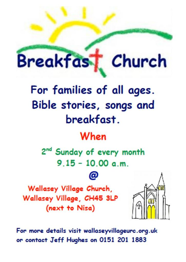 breakfast church poster